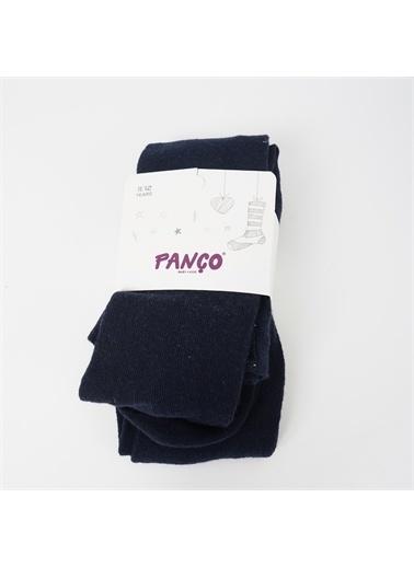 Panço Kız Çocuk Külotlu Çorap 18236000008 Lacivert